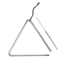 SG Musical SG-8 8-Inch Triangle with Striker