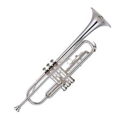SG Musical Bb Trumpet being101 Silver  Freebie