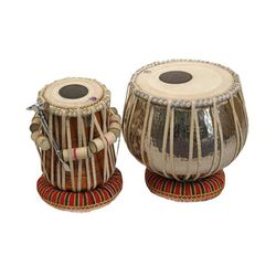 SG Musical Brass 3 kg Bayan  Tabla Set