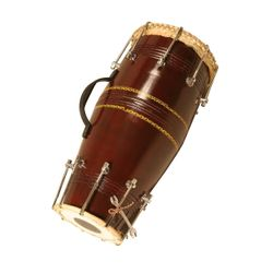 Naal Deluxe Dholak,Bolt Tension Free Padded Carry Bag