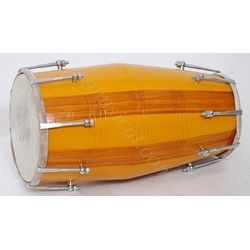 Mango Wood Dholak by SG Musical