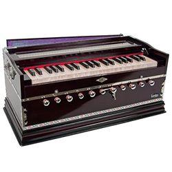 SG Musical Harmonium, Deluxe, Coupler, Purple Free Padded Carry Bag