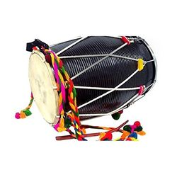 SG Musical Punjabi Bhangra Dhol Old Style Free Padded Carry Bag