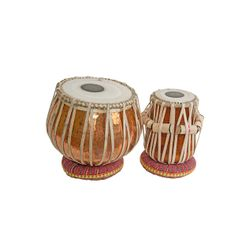 SG Musical Pro Tabla Set Copper Bayan