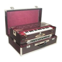 SG Musical Folding 9 Scale Changer Harmonium Free Padded Carry Bag