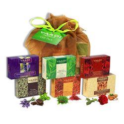 Vaadi Herbals Assorted Soaps Gift Pack (Set of 6)