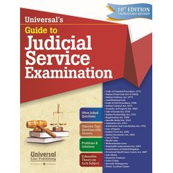 Guide to Judicial Service Examination, 10th Edn., (Reprint)