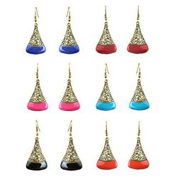 YouBella Fashion Jewellery Multi-Color Stylish  earrings for girls fancy party wear Stud Earrings for Women