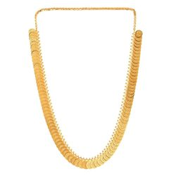 Gold Plated Ginni Style Temple Necklace