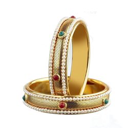YouBella Tradtional Gold Plated Jewellery Bangles For Women