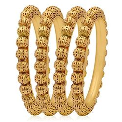 YouBella Gold Plated Jewellery Bangles For Women And Girls