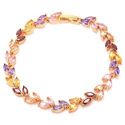 YouBella Designer Crystal Bracelet for Girls and Women