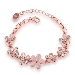 YouBella Designer Floral Bracelet for Girls and Women