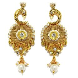 YouBella Traditional Gold Plated Jewellery Fancy Jhumka / Jhumki Earrings for Girls and Women