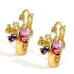 Peerless varicoloured Swiss Zircon Earrings