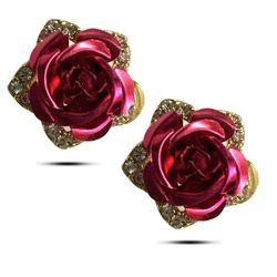 Classy Rose Gold Sheen Earring