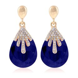 STYLISH CRYSTAL PARTY WEAR EARINGS