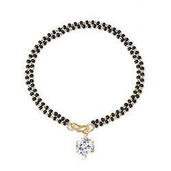 Splendid Hinged Swaying  CZ Hand Mangalsutra