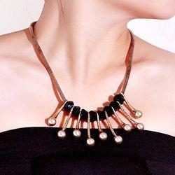Exuberant Gold Sheen Necklace