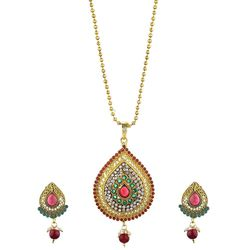 Sublime Meenakari Gold Plated Necklace