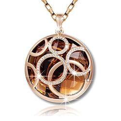 YouBella Jewellery Gracias Collection Designer Love Pendant / Necklace for Women and Girls