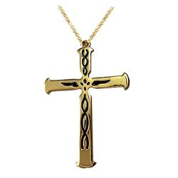 YouBella Jewellery Christmas Special Jesus Cross Pendant / Necklace for Women/Girls/Boys/Men