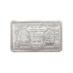 Silver Bar by YouBella - 10 Gms fine Silver