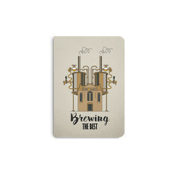 Beer Brewing The Best A5 Notebook Plain