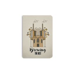 Beer Brewing The Best A6 Notebook Plain