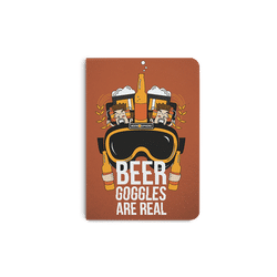 Beer Goggles Real A5 Notebook Plain
