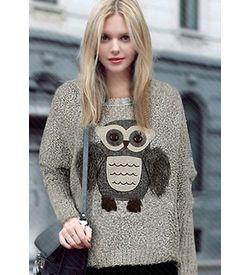 Hello Owl Pullover