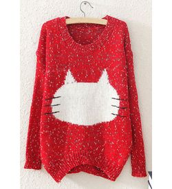 Kitty Face Pullover
