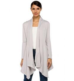 Grey Cardigan Coat