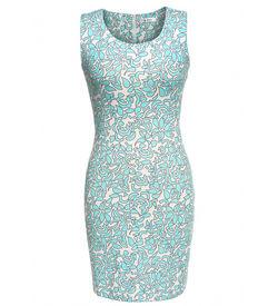 Turquoise Art Dress
