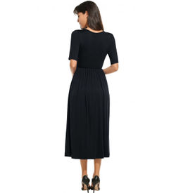 Black Empire Casual Dress