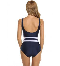 Blue Striped Monokini