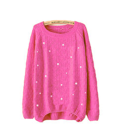 Pink Pearl Sweater
