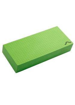Rubberband Memo Block Note Pad Green