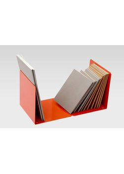 Rubberband Book End Mild Steel Red Colour Powdered Coated Finish