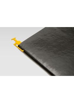 Rubberband Book Mark Mild Steel Chromish Yellow Colour Powdered Coated Finish