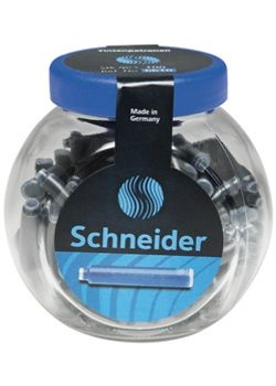 Schneider Ink Cartridge Jar Small Blue