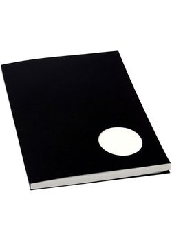 Rubberband B5 Tracing Notepad With Matt Black Cover 100 Sheets