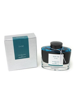 Pilot Ink Bottle 50-Sy Pine Tree Dew 50 Ml  Grey Turquoise