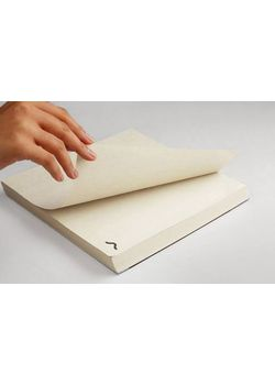 "Rubberband Memo Block  9"" X 9"" Plain Notepad Newsprint 200 Sheets"