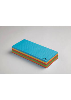Rubberband Memo Block 70 X160Mm, Notepad Multi Solid Colour  250 Sheets