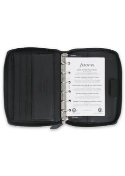 Filofax Pennybridge 028020 Black Pocket Organiser