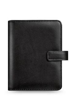 Filofax Identity 28460 Black Pocket Organiser