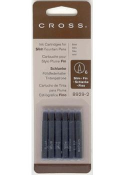 Cross Slim Ink Cartridge  8929-2 Blue