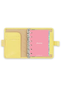 Filofax Patent 22483 Lemon Pocket Organiser