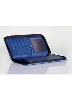 Plan-A-Day Blue Travel Wallet